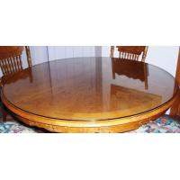 Wholesale Modern Appearance and No Folded round glass table top from china suppliers