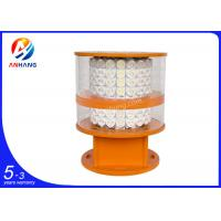 Wholesale City high-rise buildings used White LED Lamp, medium intensity aviation obstruction from china suppliers