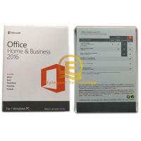 Wholesale Original Office 2016 Retail Box for Home And Business , microsoft office 2016 product key from china suppliers
