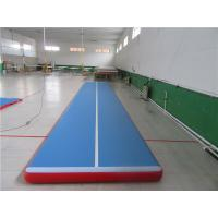 Wholesale No Noise Gymnastics Training Mats , Contemporary Air Bounce Mat For Kids from china suppliers