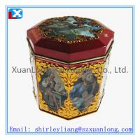 Wholesale metal rectangular coffee storage tin boxes from china suppliers