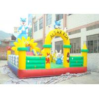 Wholesale Large Plato PVC Tarpaulin Adult Inflatable Bouncer With Jumping Castle from china suppliers