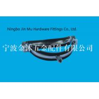 China Standard 6 Inch Rubber Pipe Clamp with Hanger Bolt And Plastic Anchor OEM on sale