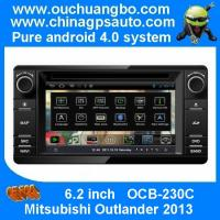 Wholesale Ouchuangbo audio dvd sat navi radio Mitsubishi Outlander 2013 pure android 4.0 S150 platfo from china suppliers