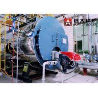 China Package Type Fire Tube Oil Steam Boiler Machine 1 Ton - 20 Ton Wet Back Structure for sale