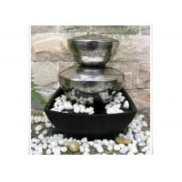 Wholesale Outdoor Garden Fountain Sculpture Contemporary Stainless Steel Water Features from china suppliers