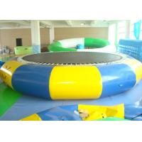 Quality Outdoor Inflatable Pool Toys, Water Trampoline For Kids And Adults for sale