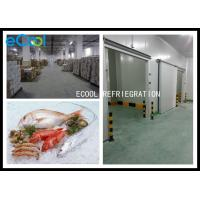 China Low Temperature Frozen Food Storage Warehouses For Seafood -50C~-60C for sale