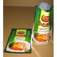 Wholesale Compound Aluminium Foil Bag Stand Up Pouches For Pickles / Instant Food from china suppliers