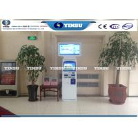 Quality Payment Kiosk Machine / Airport Self Service Kiosk Terminal Optional Color for sale