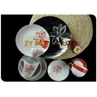 Home Usage Coupe Dinnerware Sets Food Standard Material , Newest Series Design Coupe Plate for sale