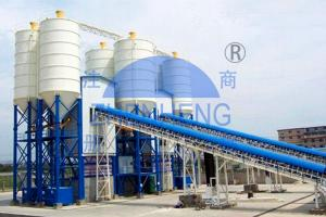 Wholesale HZS180 Belt Type Concrete Mixing Station, PLC control Concrete Batching Equipment from china suppliers