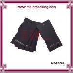 Wholesale Men apparel hang tag, black art paper hang tag silk screen printing ME-TG004 from china suppliers