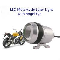 Wholesale 30W LED CREE Motorcycle Laser Gun Light With Angel Eye from china suppliers