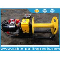 China 3 Ton Diesel Engine Cable Pulling Winch for Stringing ABC Cable ISO on sale