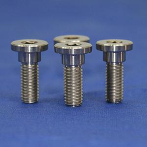 Quality titanium alloy Bolt Metric M5x10mm T25 torx button head rotor screw for sale