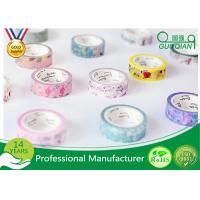 Quality DIY Scrapbooking Sticker Label Washi Masking Tape / Correction Tape for sale