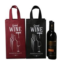 Wholesale Gift Non Woven Polypropylene Bags , Custom Non Woven Bags Tall Bottle from china suppliers