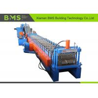 Hydraulic Cutting Custom Roll Forming Machine For Soundproof Walls / Back Panel Metal Roof