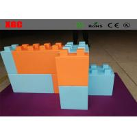 Wholesale 8 Colors Outdoor Amusement Equipment PE Building Blocks For House from china suppliers