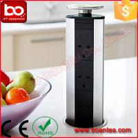 Wholesale Pull Up Kitchen Worktop Pop Up Socket With USB Charger 33*10*10 Cm from china suppliers