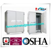Wholesale Security Fire Resistant Storage Cabinets , Fireproof Vertical File Cabinet For Office Data from china suppliers