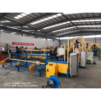 Buy cheap PLC Automatic Chain Link Fence Making Machine For Making Chain Link Fence from wholesalers