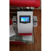 Quality Ultrasonic Cavitation Vacuum Liposuction Laser Bipolar Roller Massage RF Beauty Machine for sale