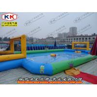 Wholesale Word Cup Inflatable Soccer Ball Field Sport Games / 0.6mm Thickness PVC from china suppliers