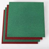 Wholesale High quality outdoor wear resistant rubber floor tile for playground from china suppliers