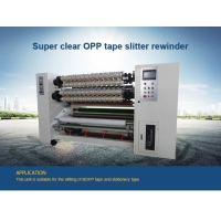 Wholesale Super Clear Bopp Tape Transparent Adhesive Tape Slitting Machine from china suppliers