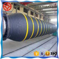 Wholesale Low price 30 inch high abrasion resistant black rubber dredging hose for slurry dredging from china suppliers