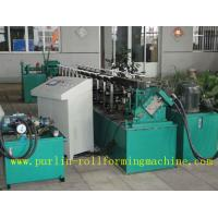 Buy cheap Channel Stud And Track Roll Forming Machine for Overhead Rail / Hanger Runner from Wholesalers