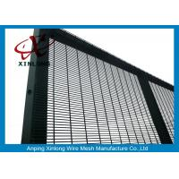 Buy cheap Anti - Climb Jail 358 Chain Link Fence Security / Construction Safety Fence from wholesalers