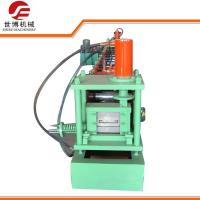 Wholesale C Purlin Steel Roof Roll Forming Machine Running Stably 8-12 M/Min Forming Speed from china suppliers