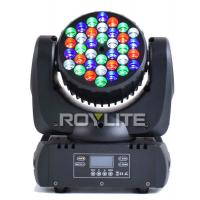 Wholesale 12 / 13 Channels LED Stage Light , Mac 101 36pcs 3w RGBW LED Light from china suppliers