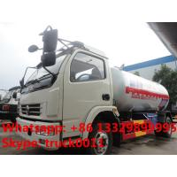 Buy cheap 5.5m3 2.3tons bulk lpg gas transported truck for sale, hot sale lpg gas delivery truck from Wholesalers