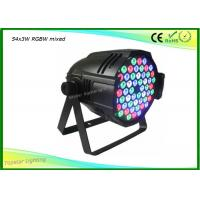 Quality High Configuration 3 Watts DJ Stage Light , Led Par 64 Lights DMX 8CH With Auto Mode for sale