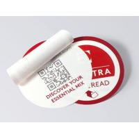 Wholesale Round Shape Multi Layer Labels , Custom Design Peel And Reseal Labels from china suppliers