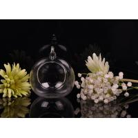 Wholesale Borosilicate Glass Hanging Tealight Candle Holders ASTM Passed from china suppliers