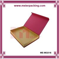 Wholesale printed recycled folding kraft paper box for gift and packaging ME-MG018 from china suppliers