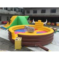 Wholesale Funny Large Inflatable Mechanical Bull Games For 1 People  , Inflatable Rides from china suppliers