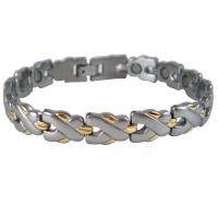 Wholesale Cool Men's Interchangeable Magnetic Energy Stainless Steel Bracelet Jewellery from china suppliers