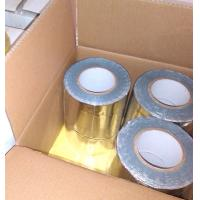 China GRAY COLOR BUTYL RUBBER ADHESIVE WITH COLORFUL ALUMINIUM FOIL FLASHING TAPE on sale