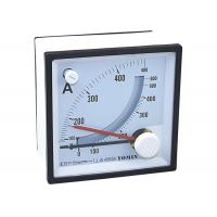 Bimetal And Moving Iron Analogue Panel Meters , Combined Maximum Demand Ammeter / Current Transformer for sale
