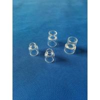 Wholesale custom Ground/Clear/Color quartz glass joint ground joint tapered adapter from china suppliers