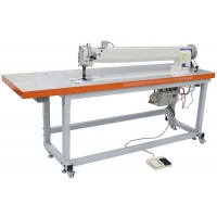 Wholesale Long Arm DP17 240V Three Synchronou Double Needle Sewing Machine from china suppliers
