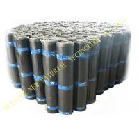 Quality Flat Self Adhesive Roofing Polyurethane PU Waterproof Membrane Material Black for sale