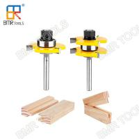 Wholesale BMR TOOLS 1/4 Inch Shank Carbide Tipped Tongue and Groove Assembly Bits for Woodworking from china suppliers