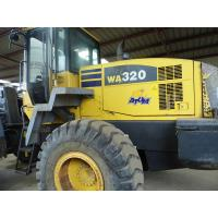 Wholesale WA320-5 USED KOMATSU WHEEL LOADER FOR SALE ORIGINAL JAPAN USED KOMATSU WA320-5 LOADER from china suppliers
